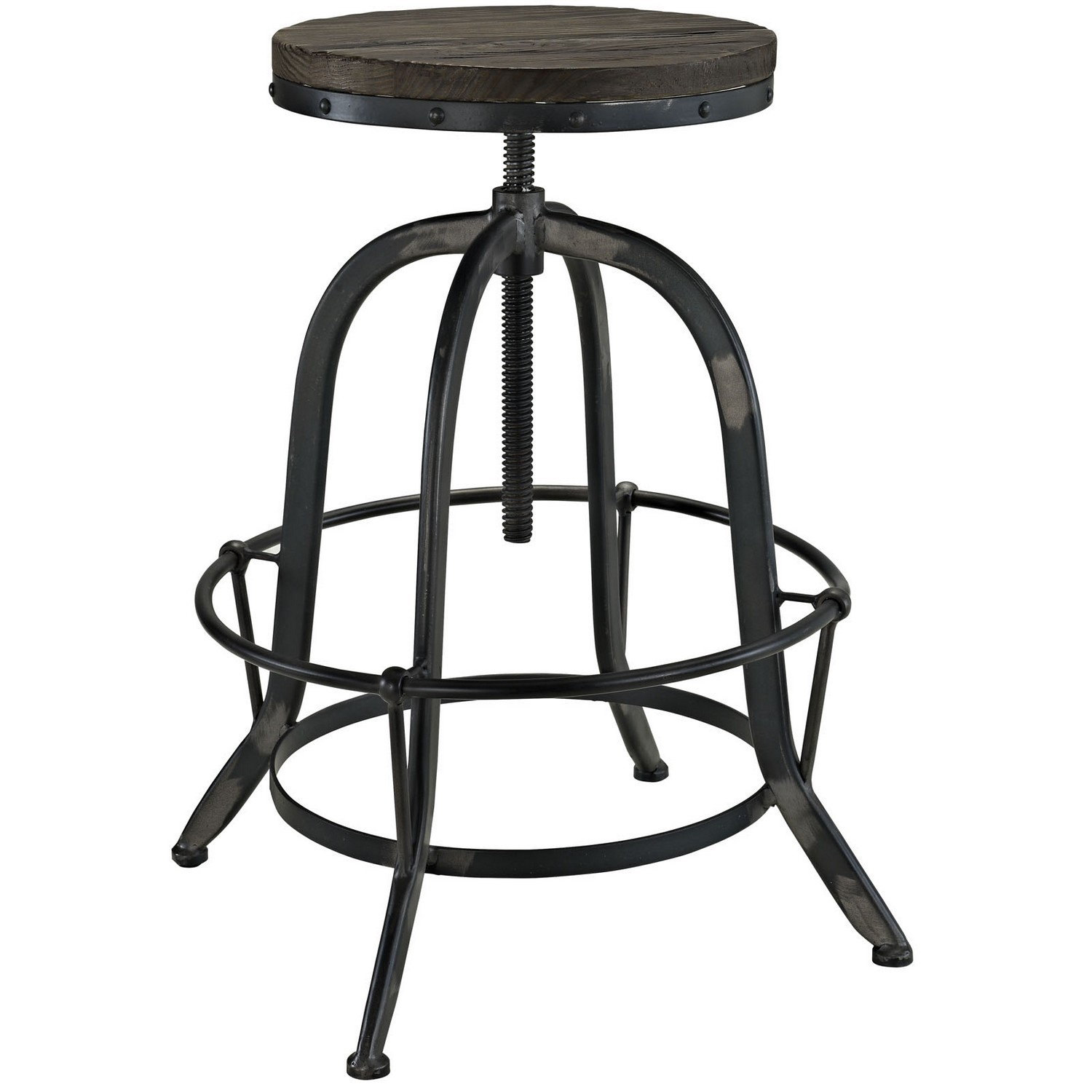 Modway Sylvan 3 Piece Pub Set - Black