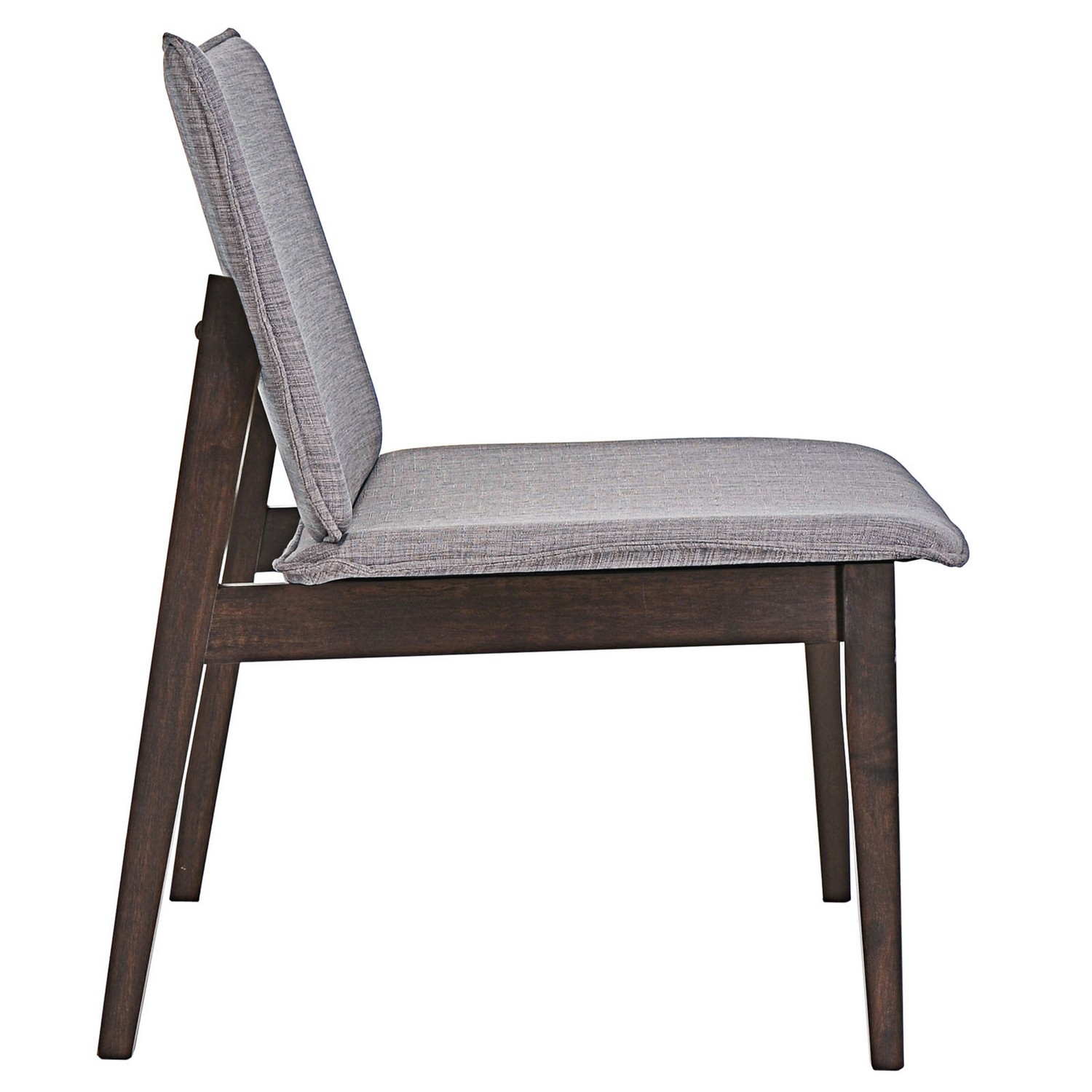 Modway Evade Lounge Chair - Walnut Gray