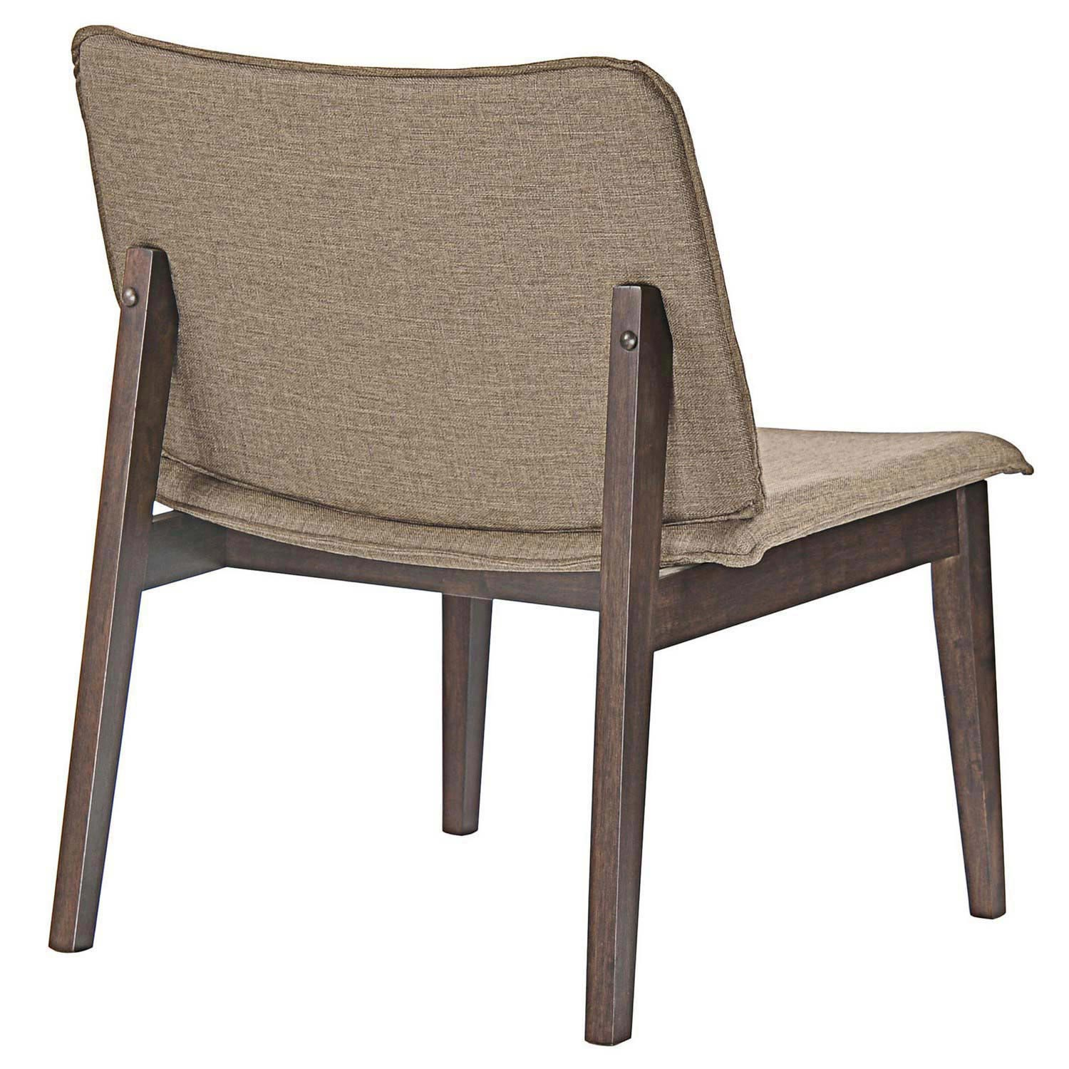 Modway Evade Lounge Chair - Walnut Latte