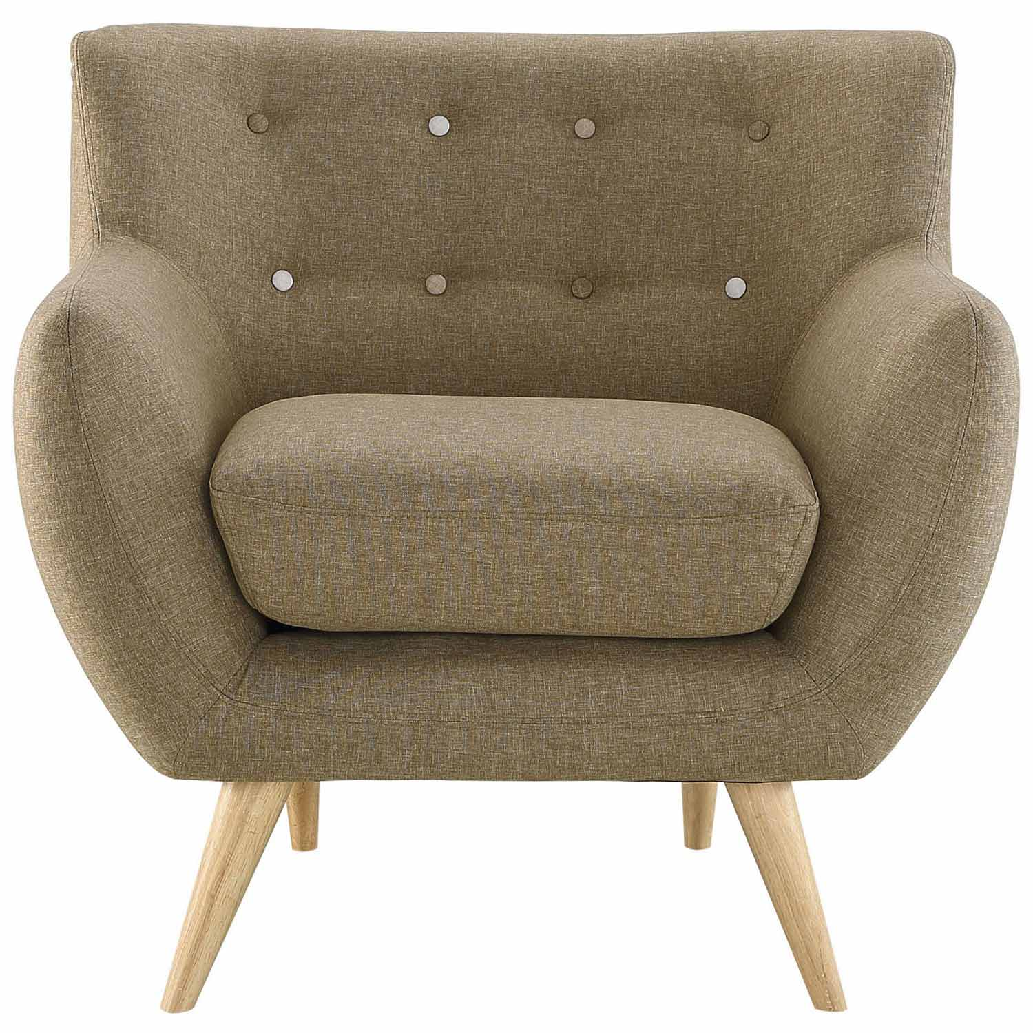 Modway Remark Armchair - Brown