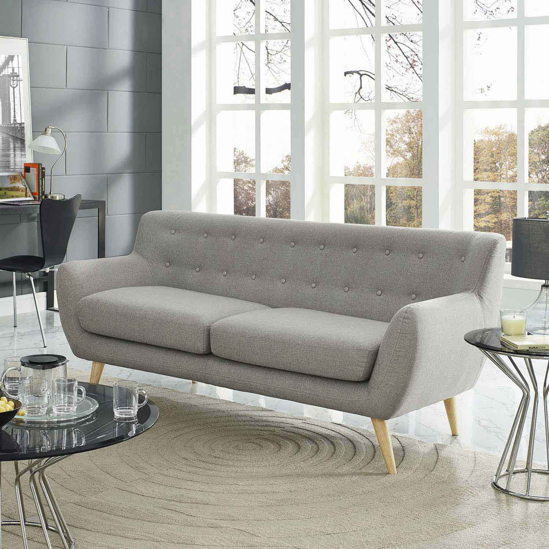 Modway Remark Sofa - Light Gray