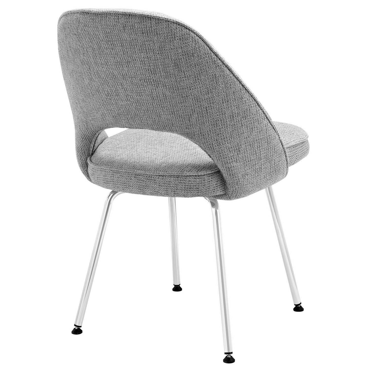 Modway Cordelia Dining Chairs Set of 2 - Light Gray
