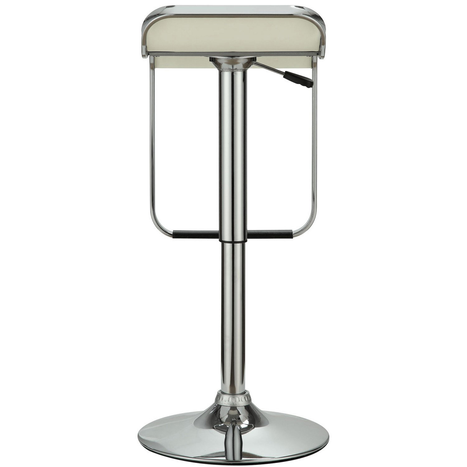 Modway LEM Vinyl Bar Stool - White