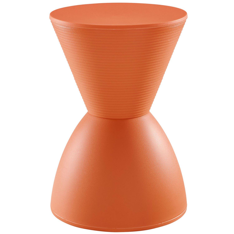 Modway Haste Stool - Orange