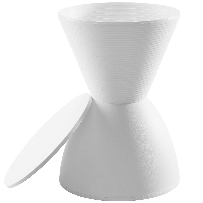 Modway Haste Stool - White