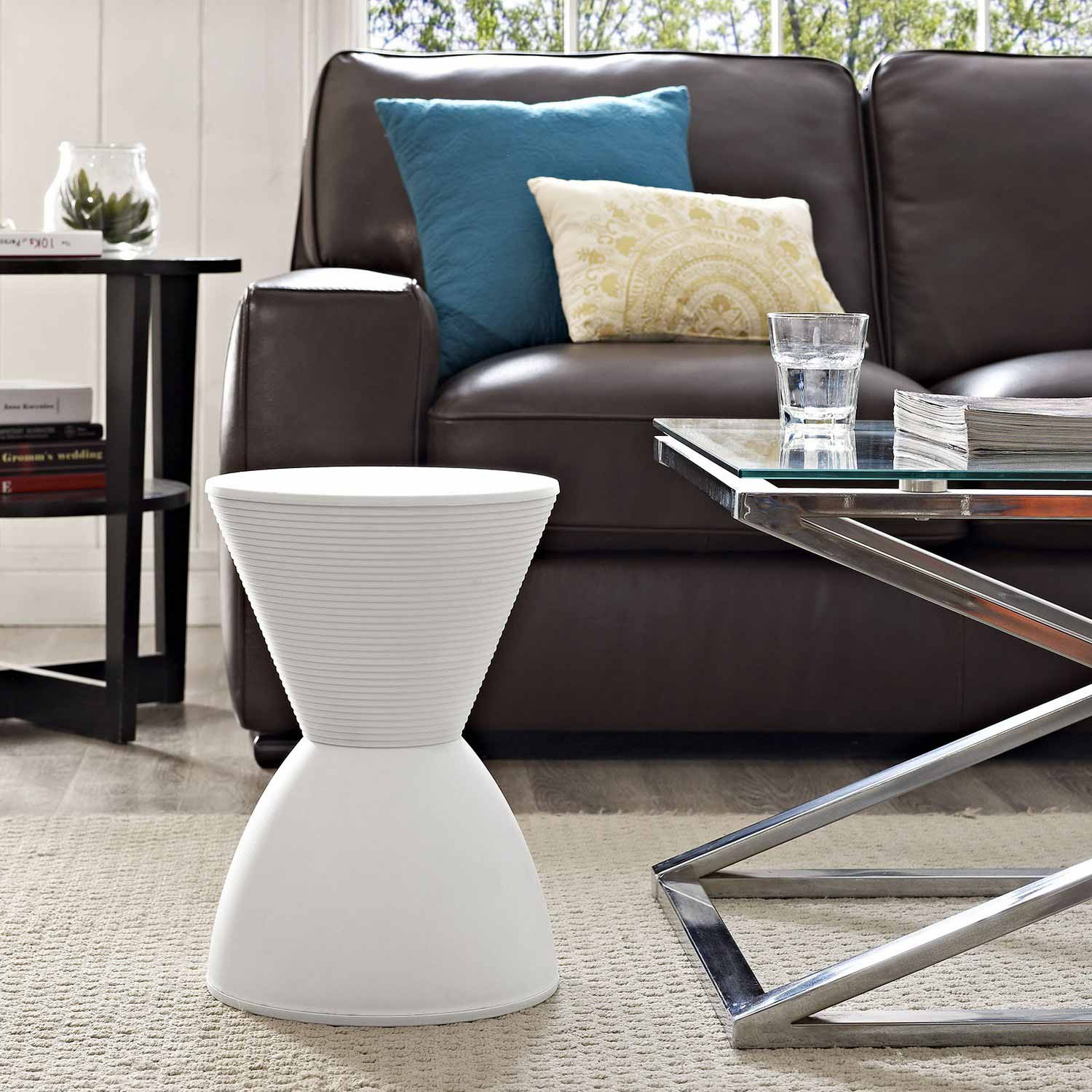 Modway Haste Stool White Mw Eei 1699 Whi At Homelement Com