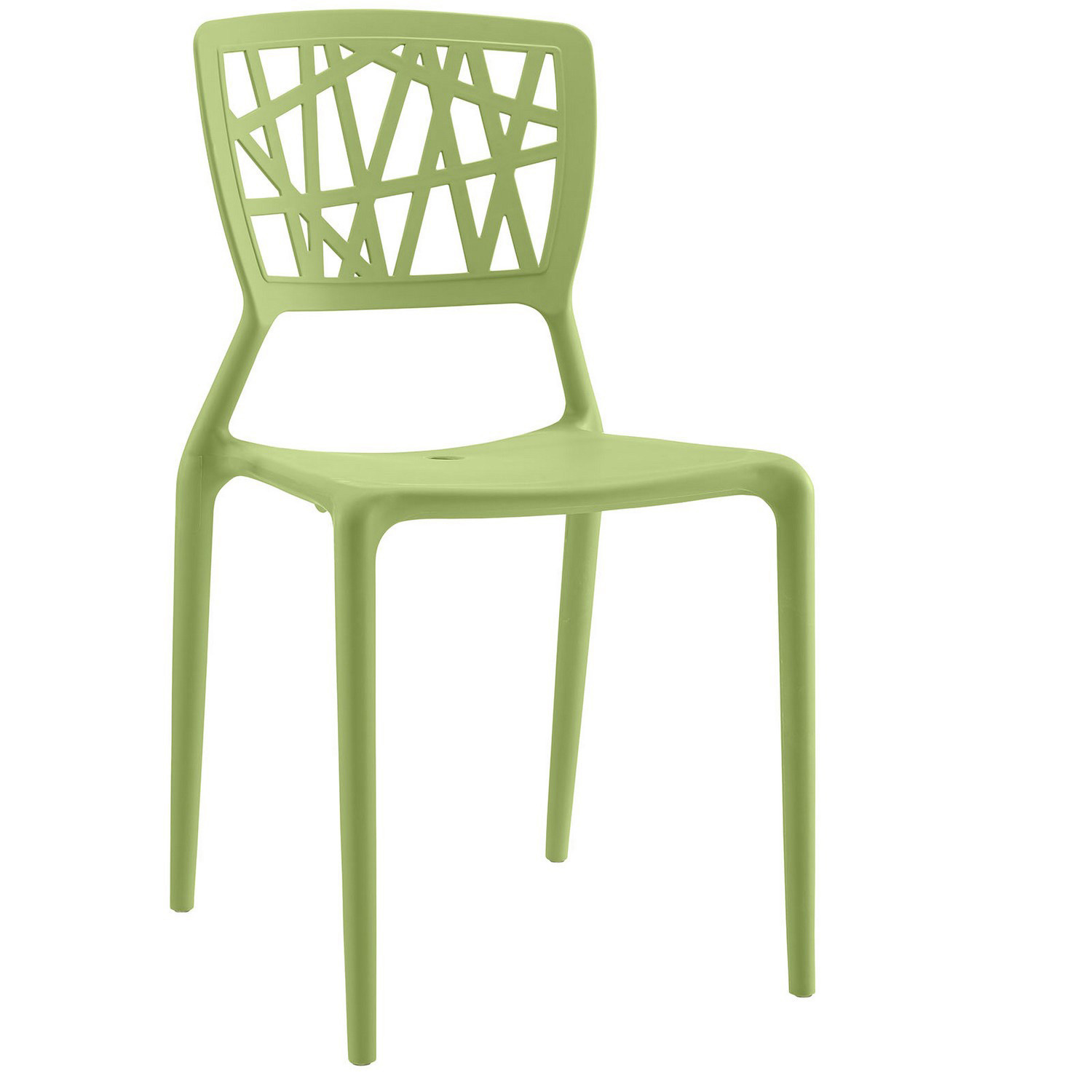 Modway Astro Dining Side Chair - Green