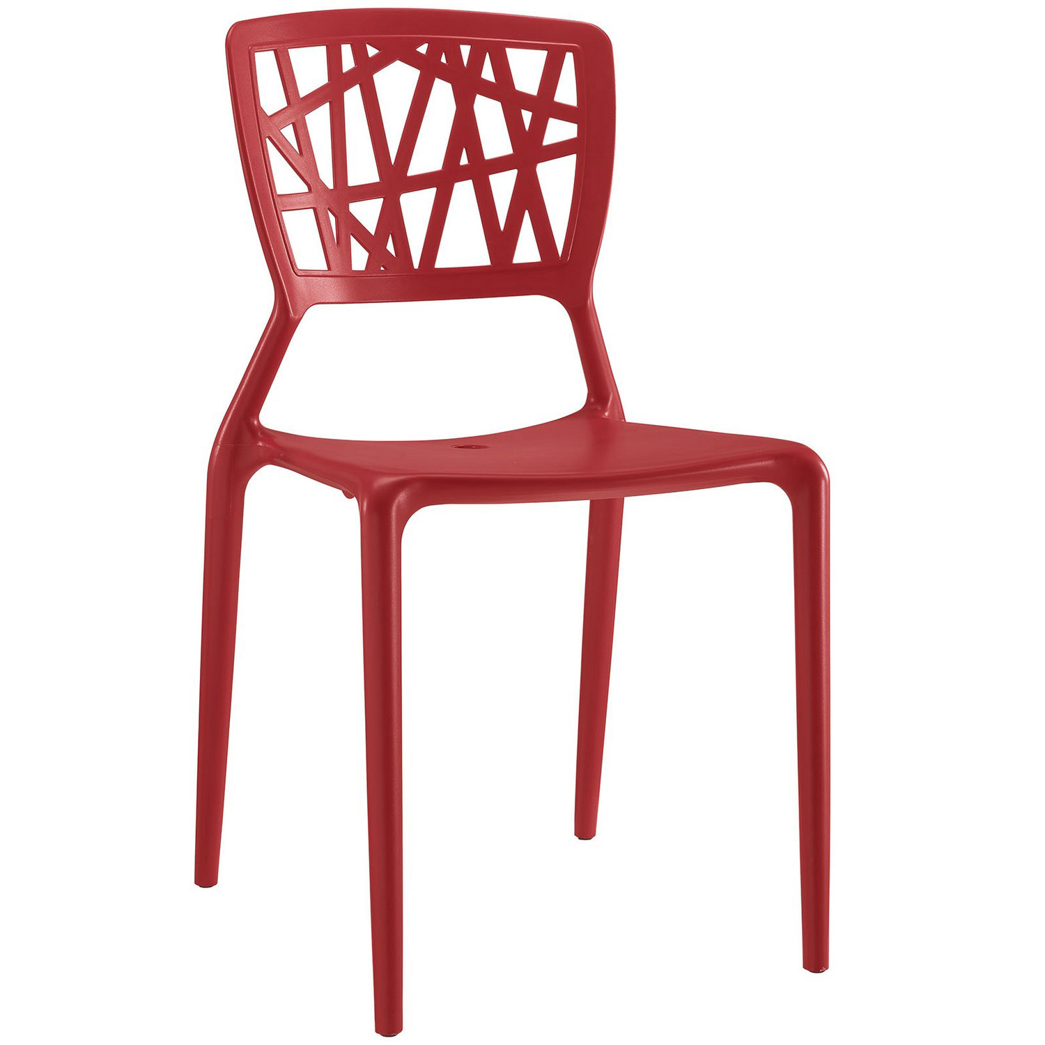 Modway Astro Dining Side Chair - Red