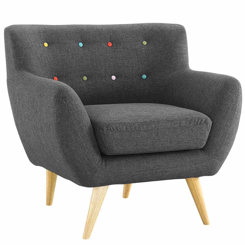 Modway Remark 3 Piece Living Room Set - Gray