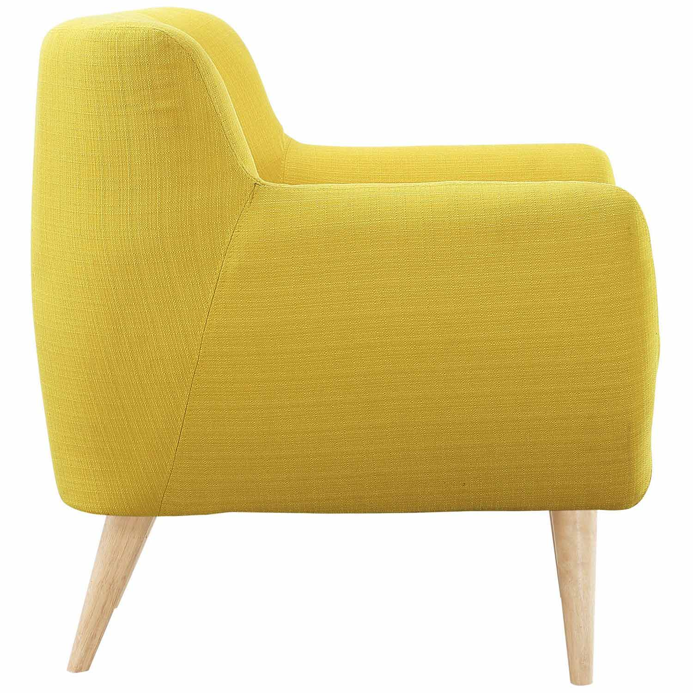 Modway Remark 3 Piece Living Room Set - Sunny