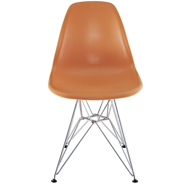 Modway Paris Dining Side Chair - Orange