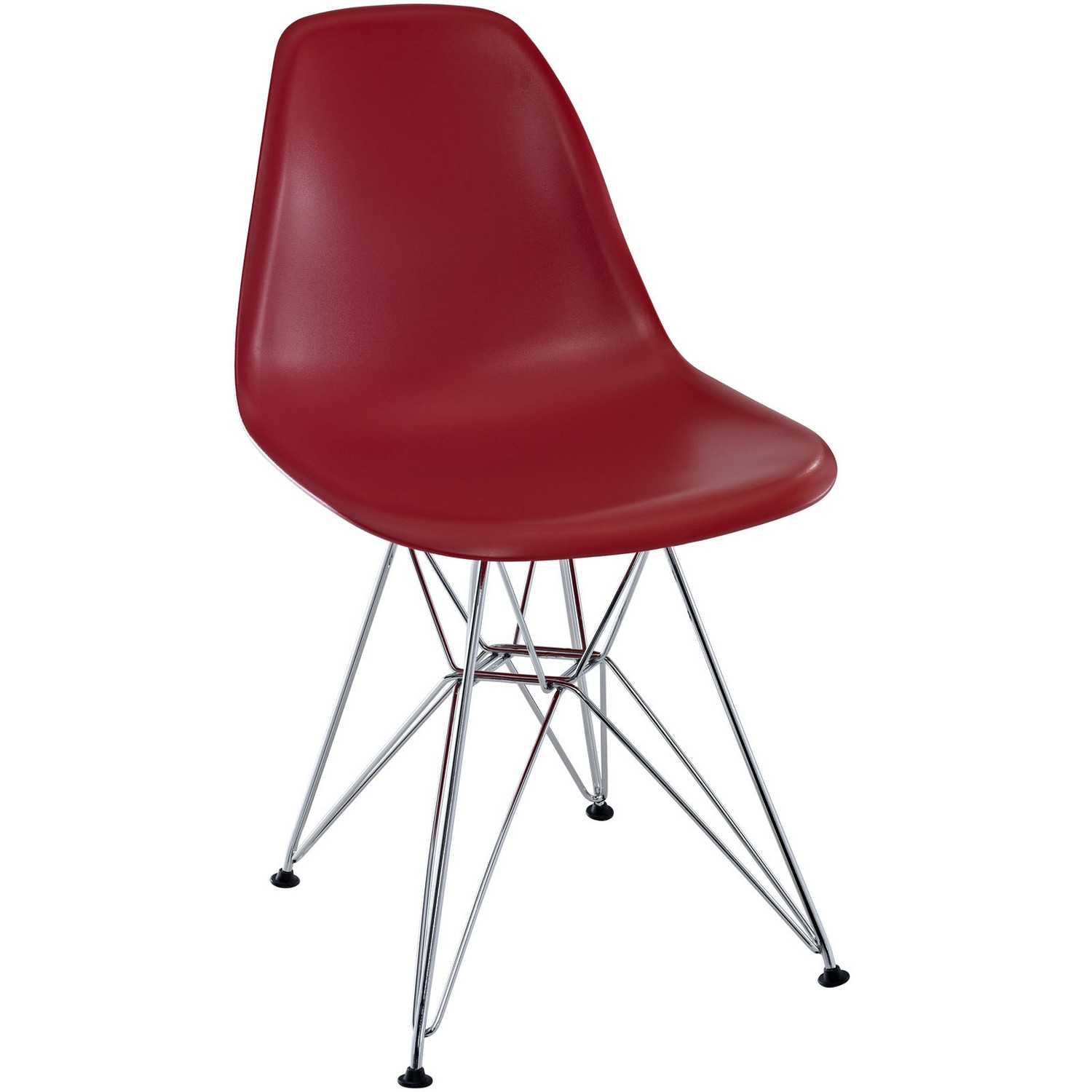 Modway Paris Dining Side Chair - Red