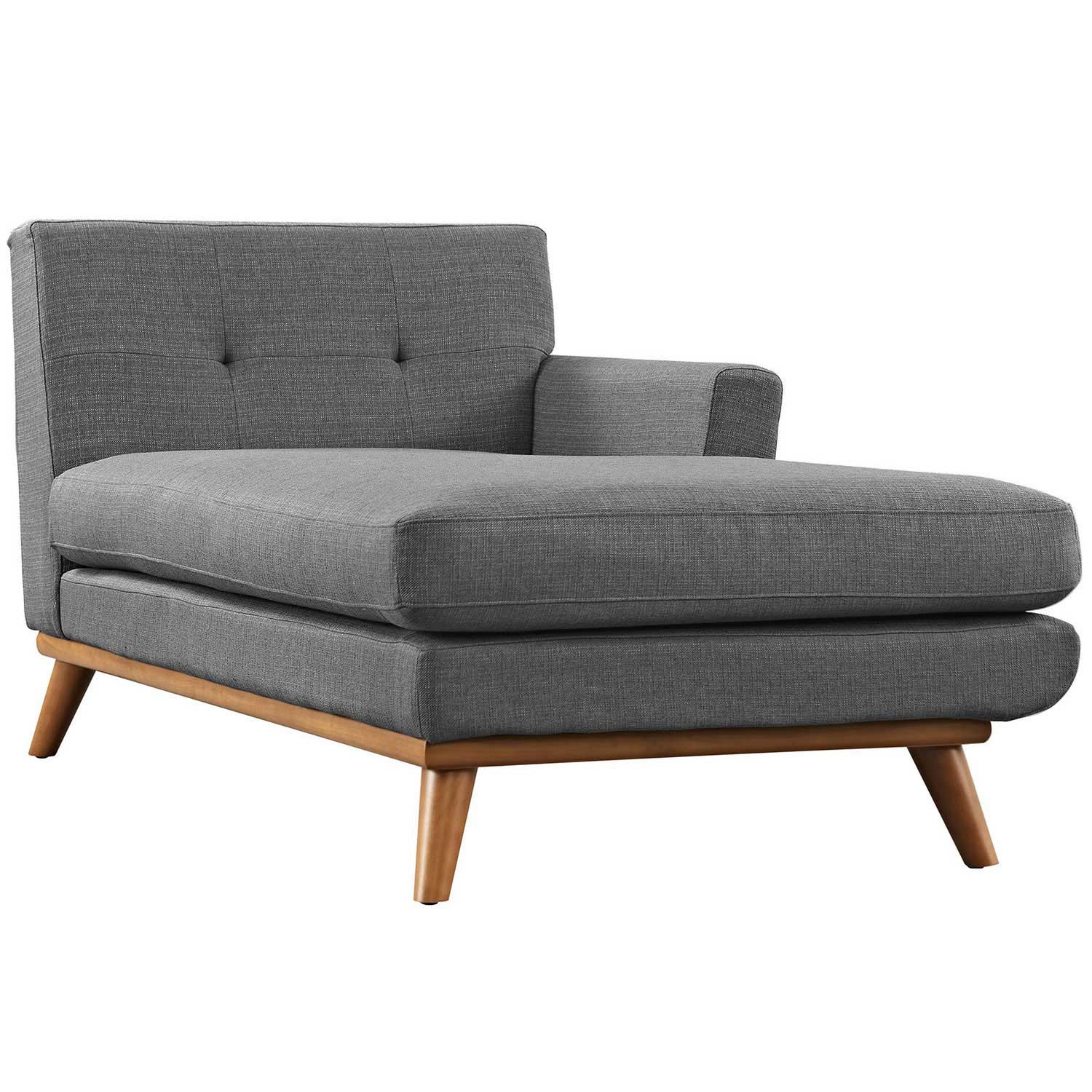 Modway Engage Right Arm Chaise - Gray