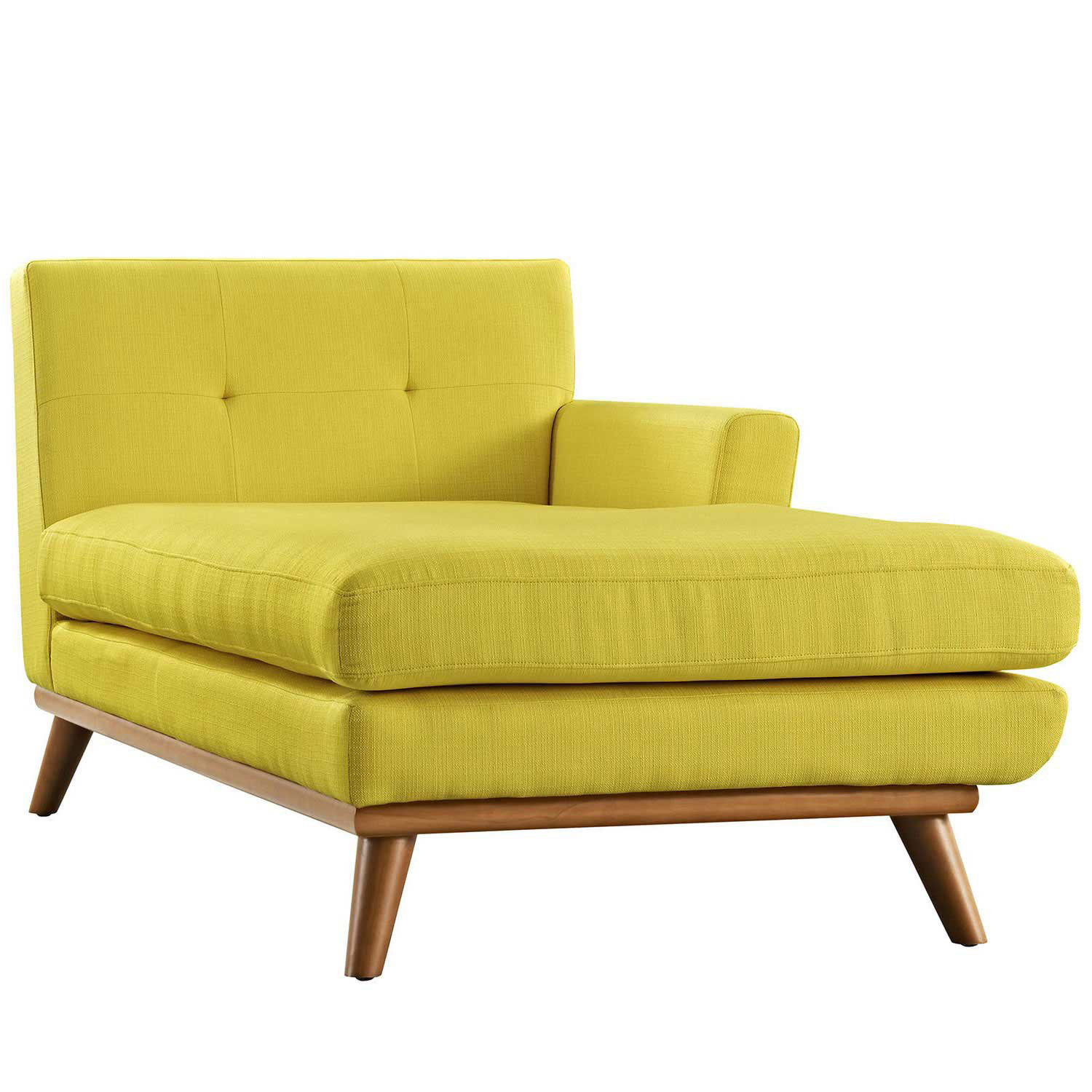 Modway engage right arm chaise sunny mw eei 1794 sun at for Chaise wooden arms