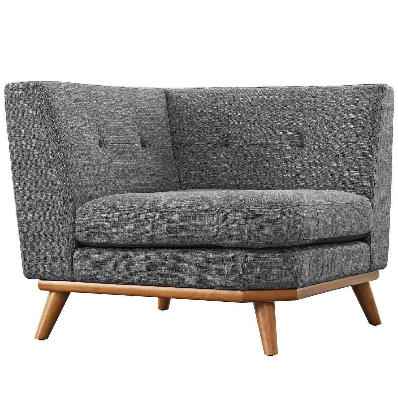 Modway Engage Corner Sofa - Gray