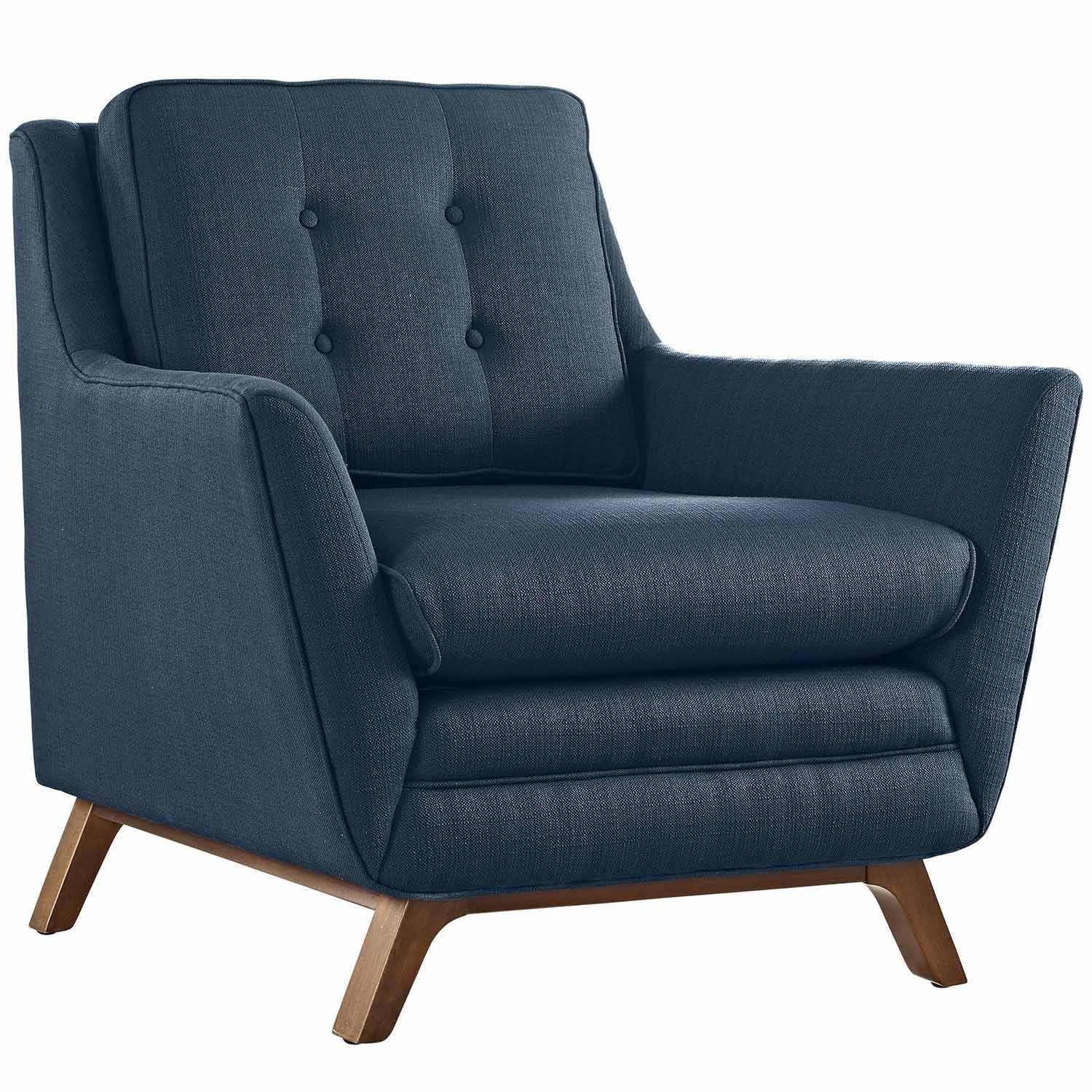 Modway Beguile Fabric Arm Chair - Azure