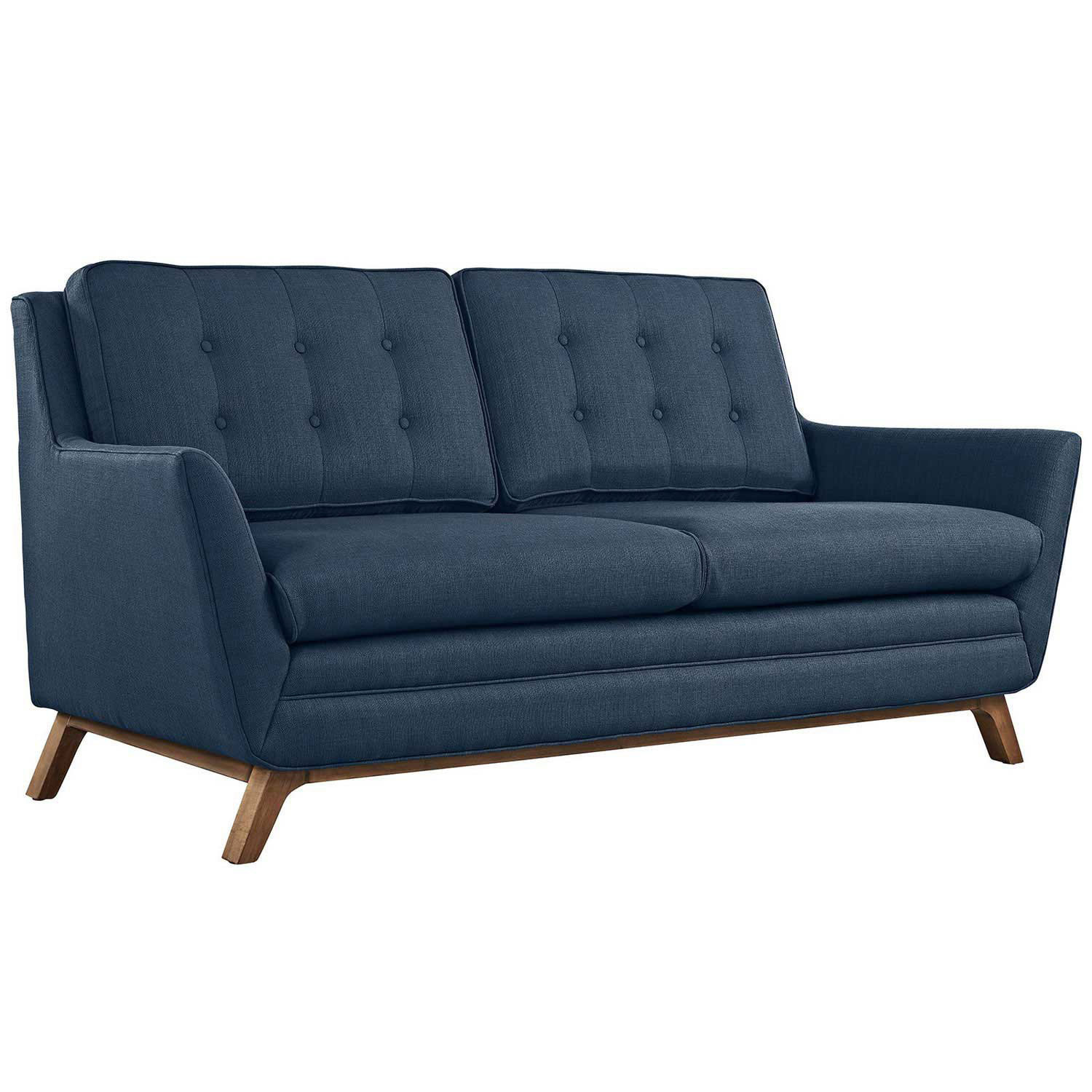 Modway Beguile Fabric Loveseat - Azure