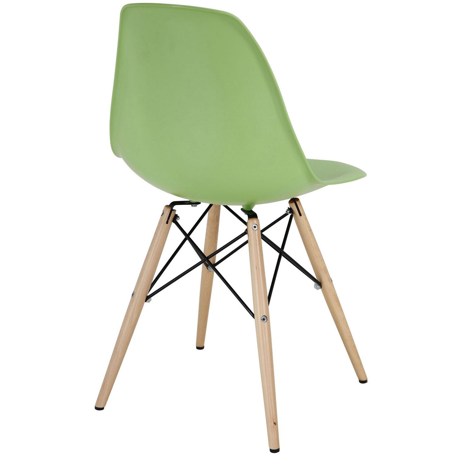 Modway Pyramid Dining Side Chair - Light Green