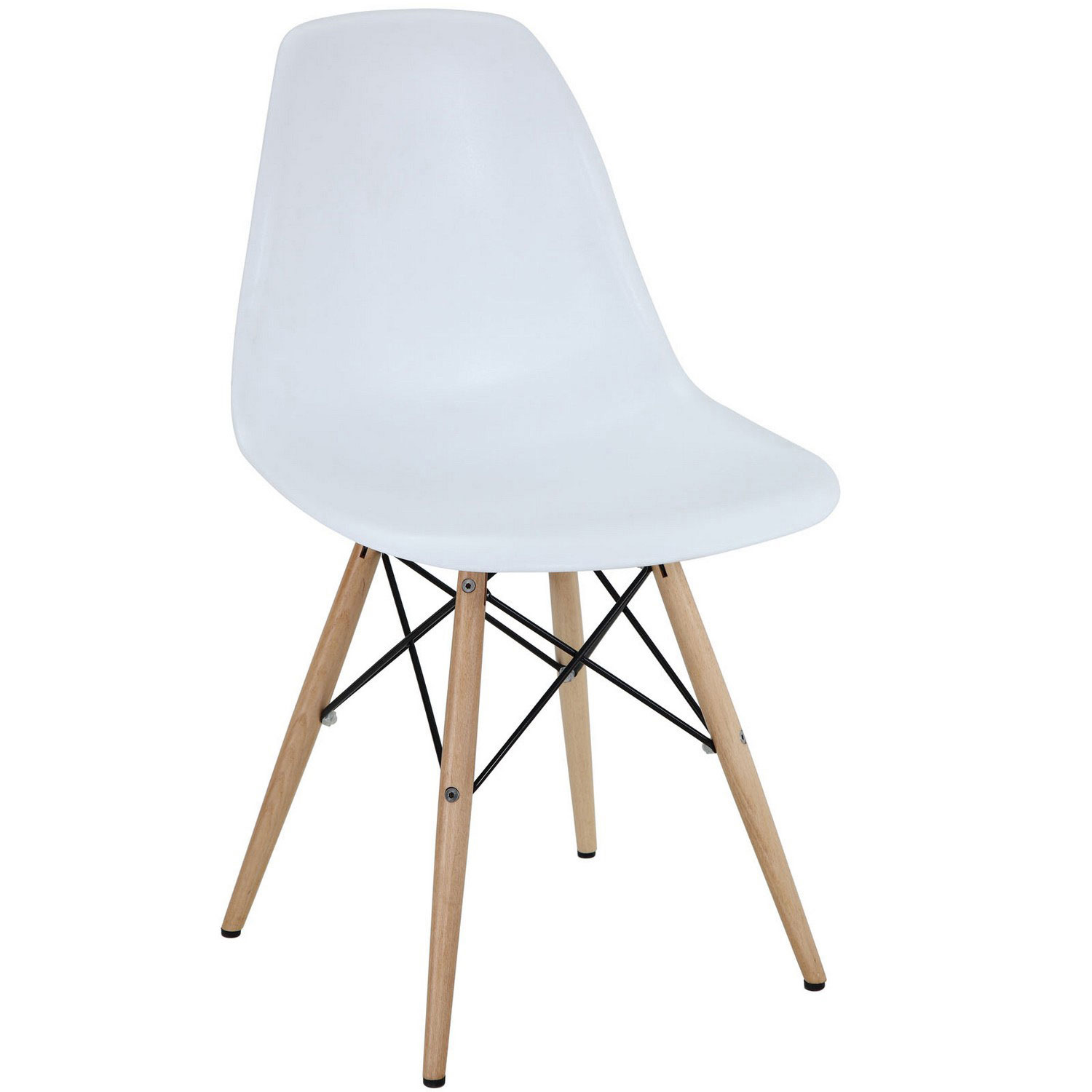 Modway Pyramid Dining Side Chair - White