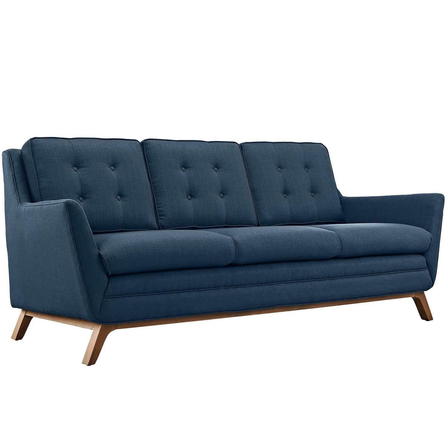 Modway Beguile Fabric Sofa - Azure