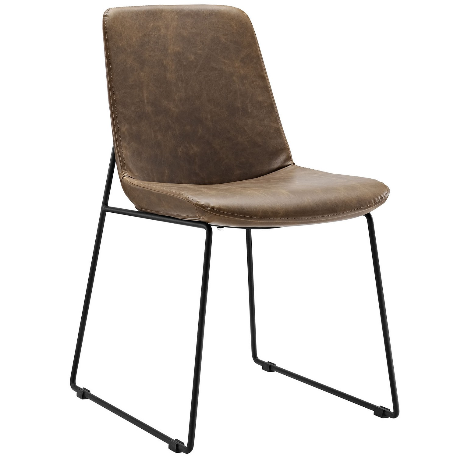 Modway Invite Dining Side Chair - Brown