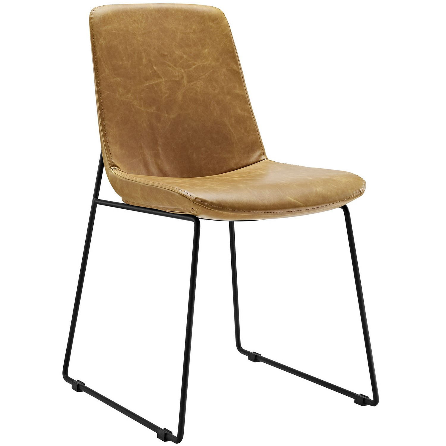 Modway Invite Dining Side Chair - Tan