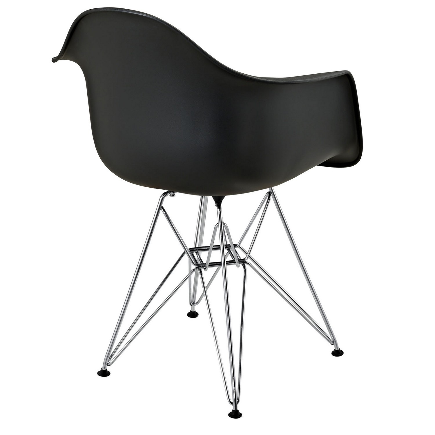 Modway Paris Dining Armchair - Black