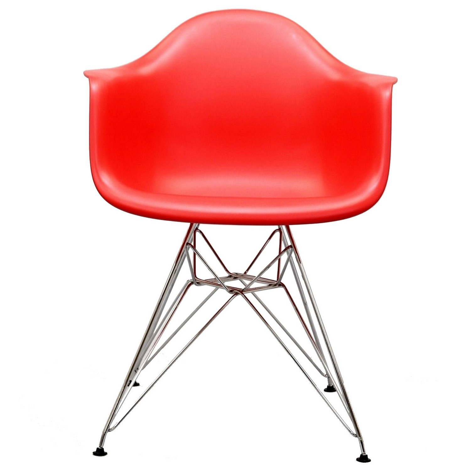 Modway Paris Dining Armchair - Red