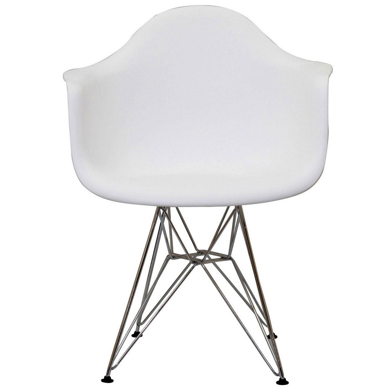 Modway Paris Dining Armchair - White