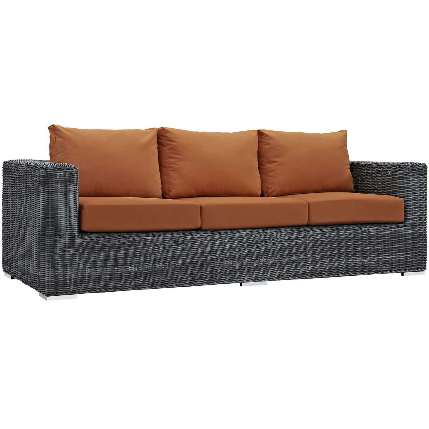 Modway Summon Outdoor Patio Sunbrella Sofa - Canvas Tuscan