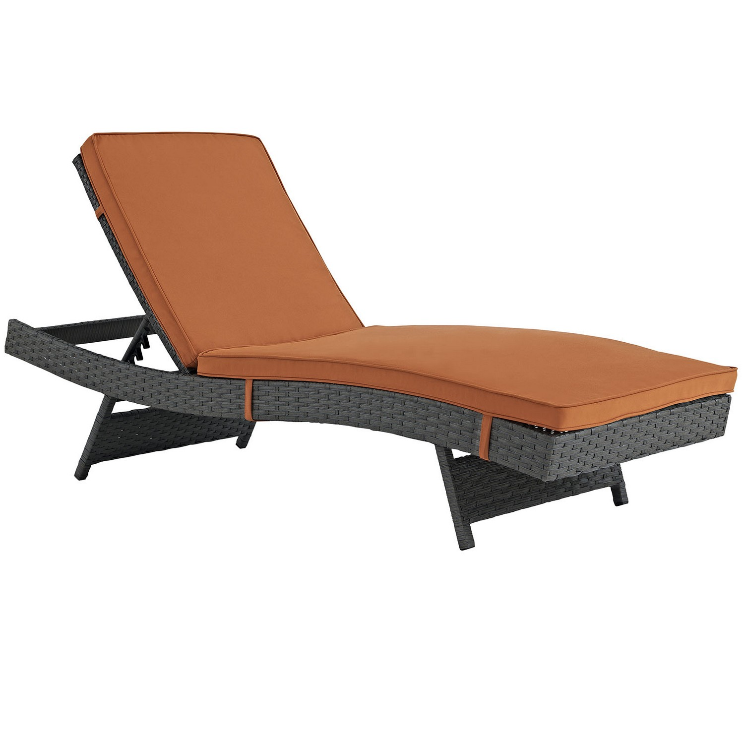 Modway Sojourn Outdoor Patio Sunbrella Chaise - Canvas Tuscan