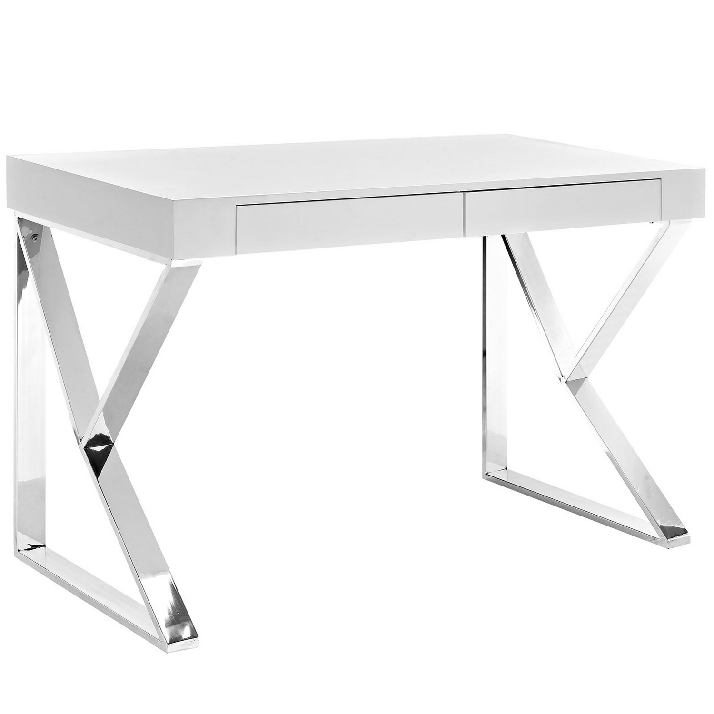 Modway Adjacent Desk - White
