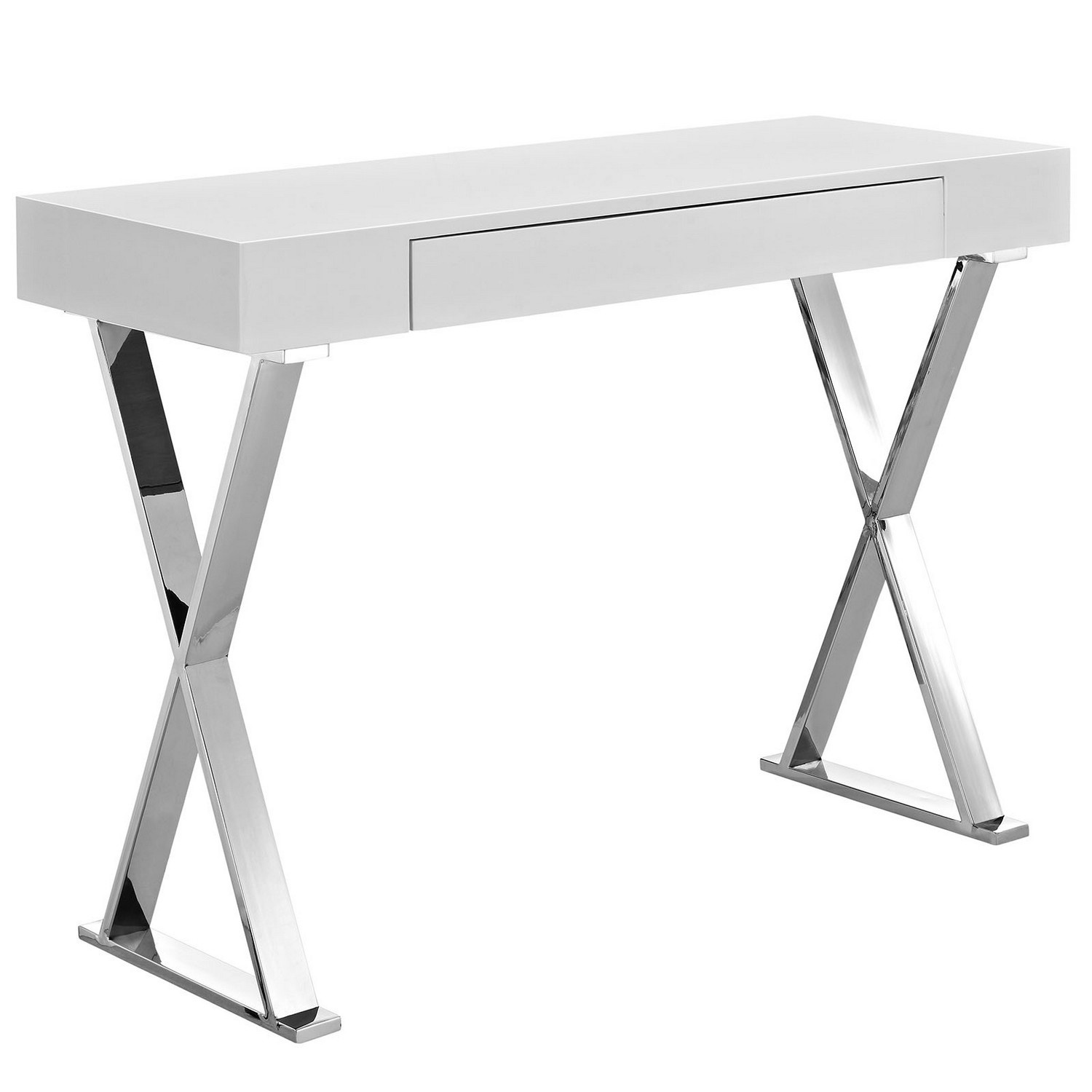 Modway Sector Console Table - White