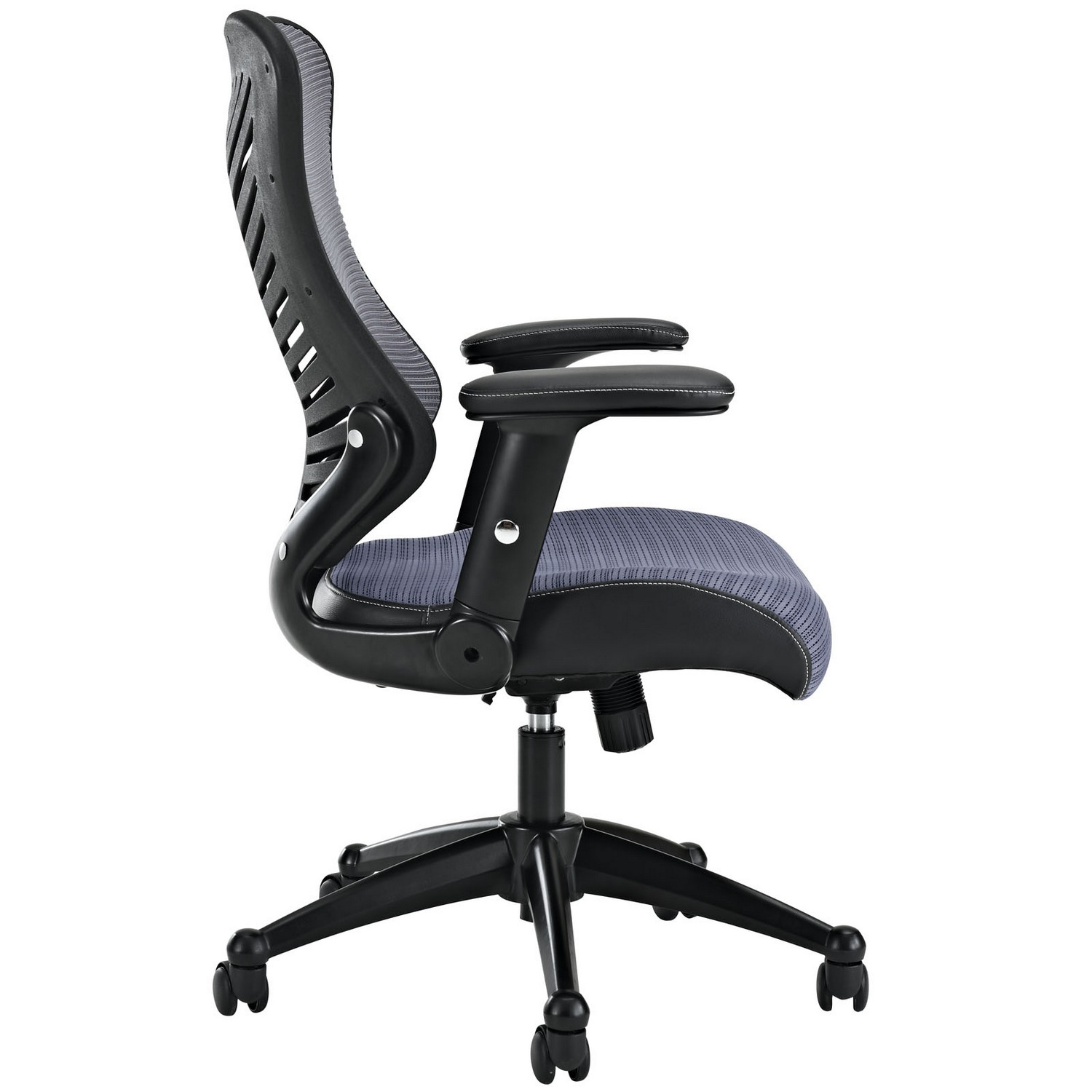 Modway Clutch Office Chair - Gray