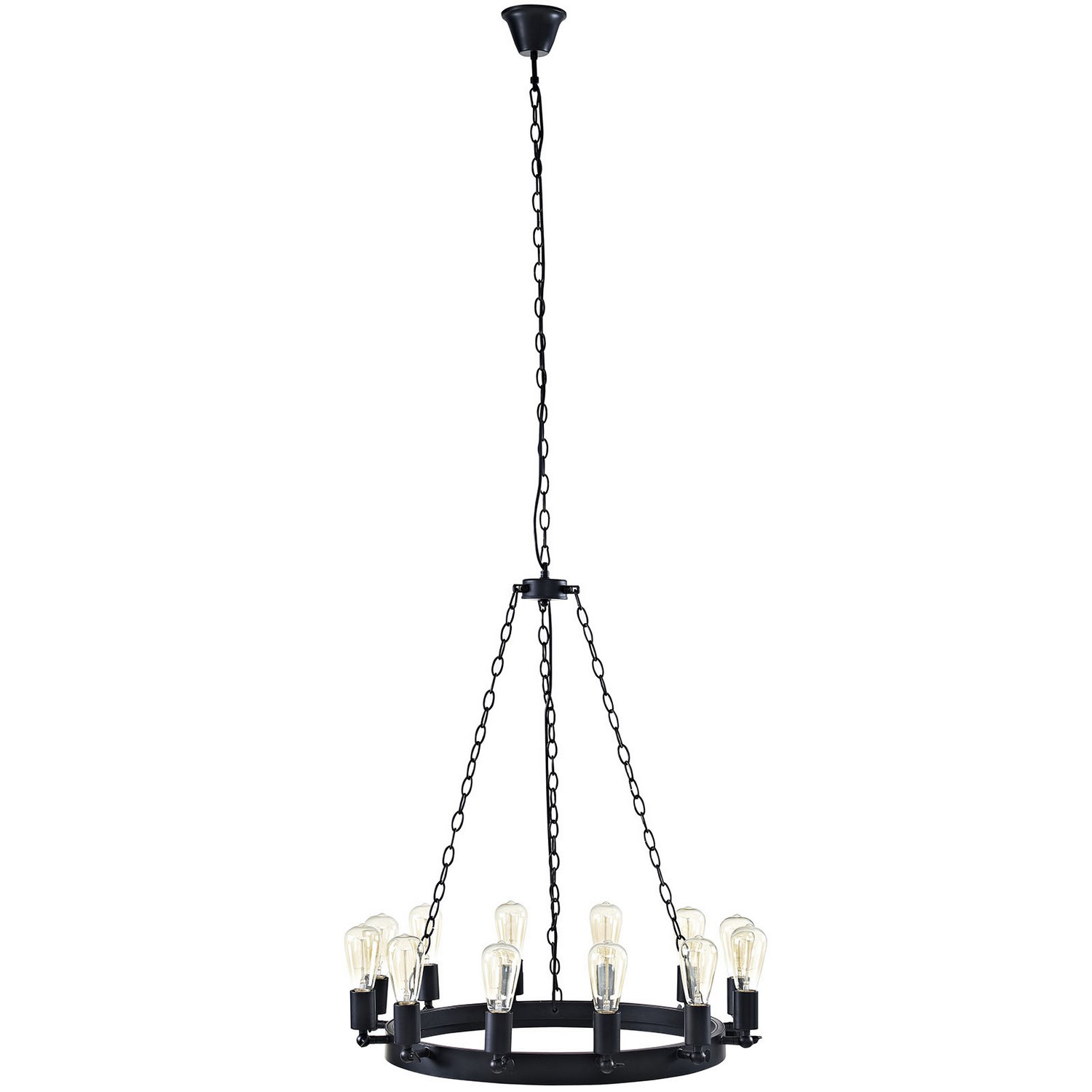 Modway Teleport 29-inch Chandelier - Brown