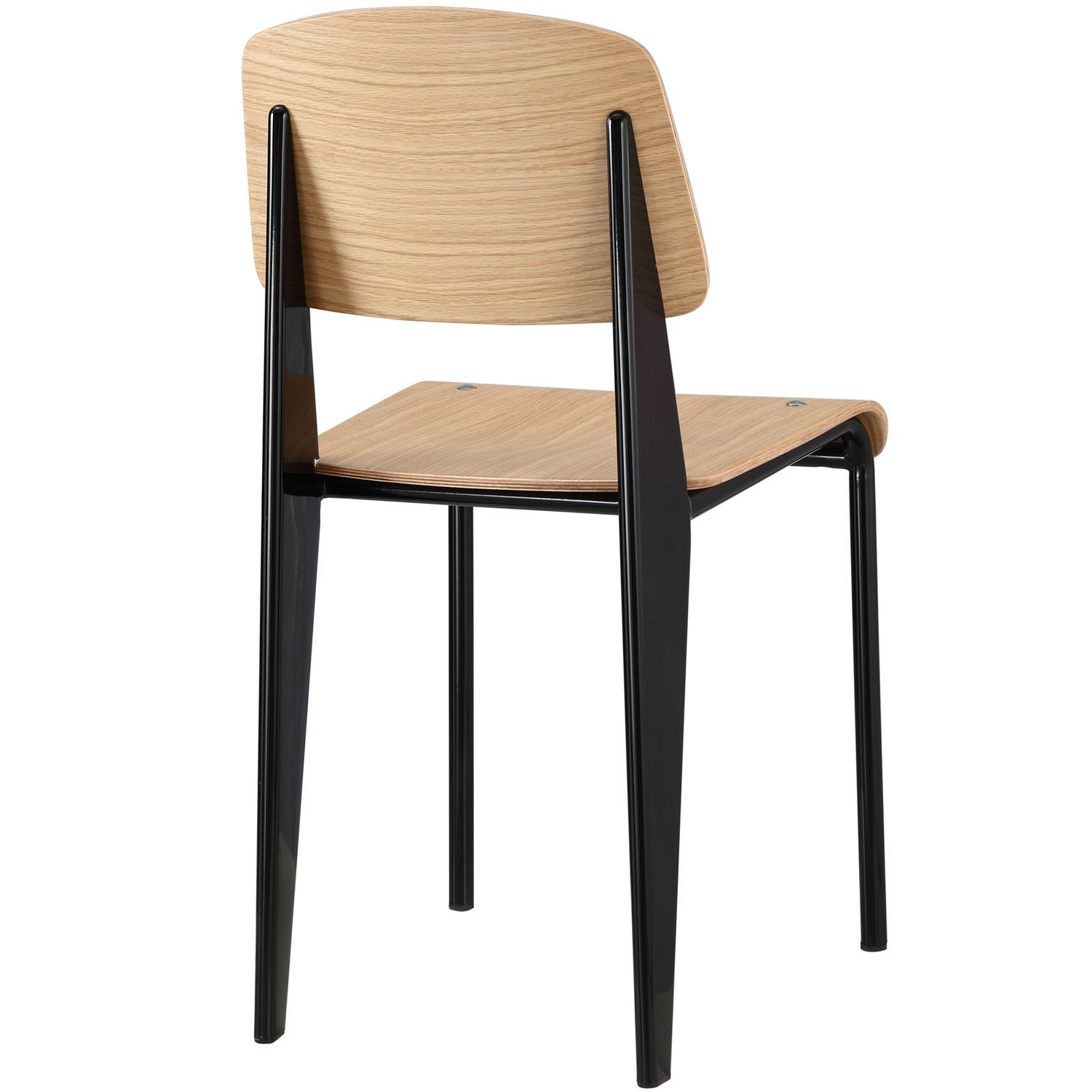 Modway Cabin Dining Side Chair - Natural Black