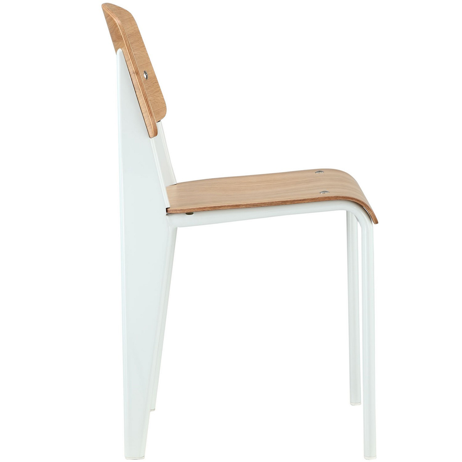 Modway Cabin Dining Side Chair - Natural White