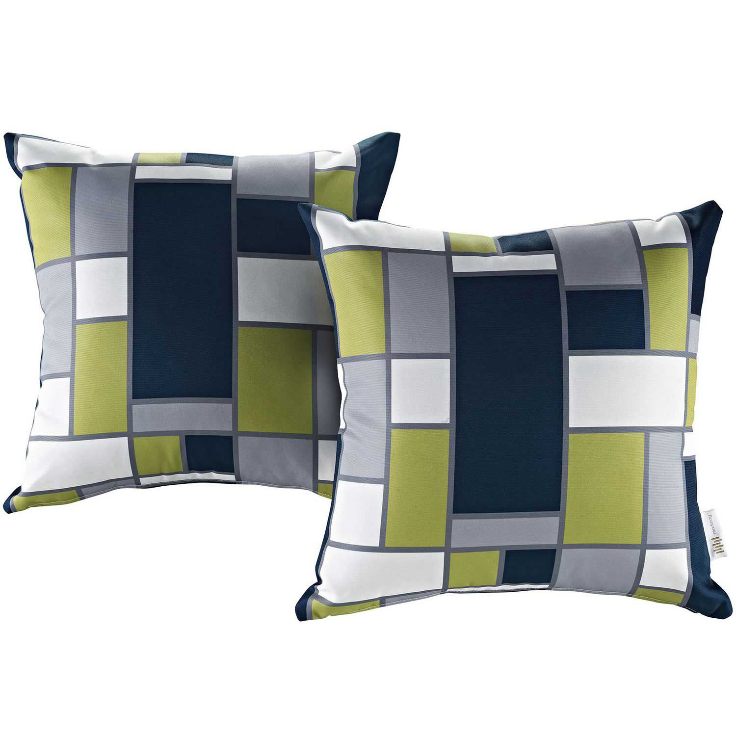 Modway Modway Two Piece Outdoor Patio Pillow Set - Rectangle