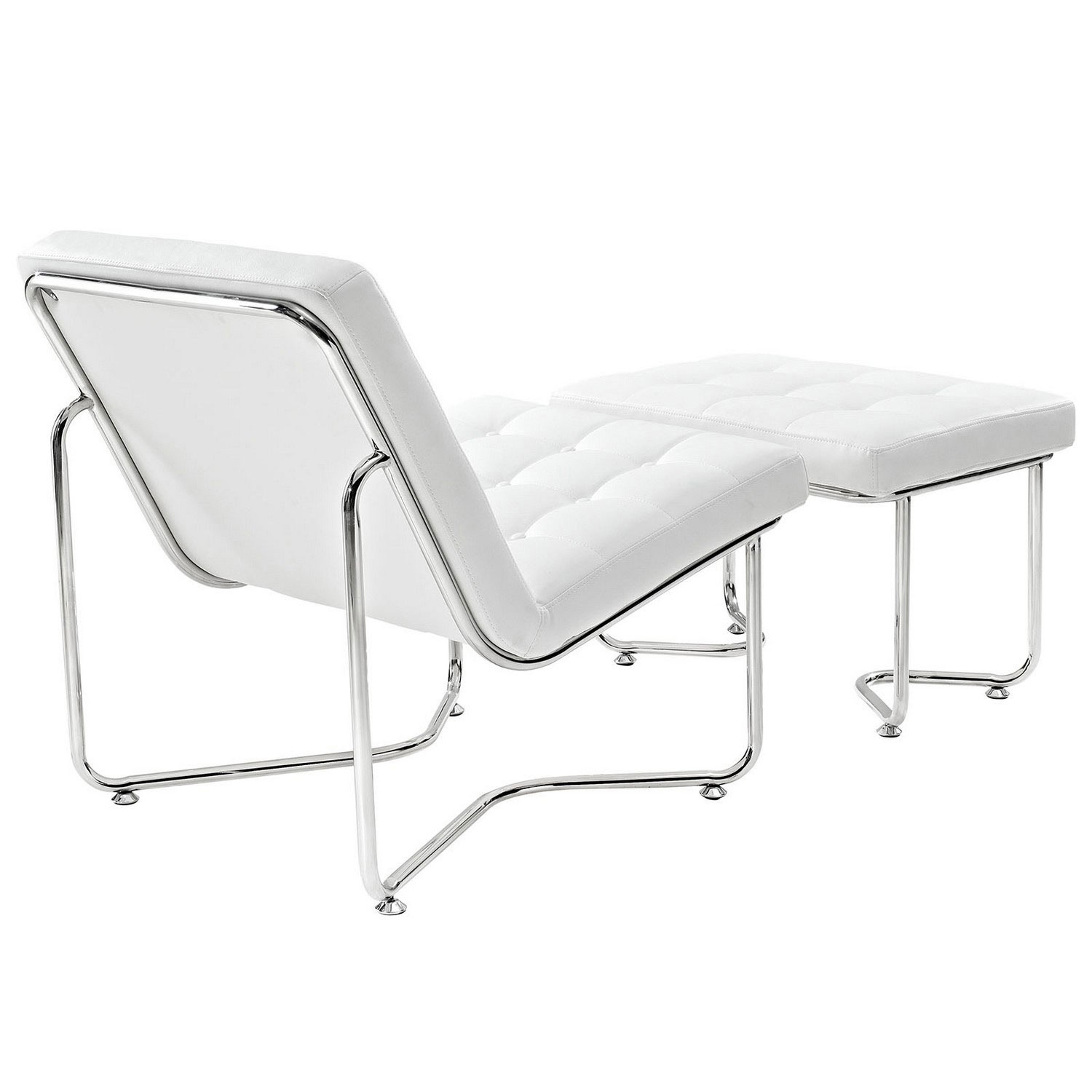 Modway Gibraltar Lounge Chair - White