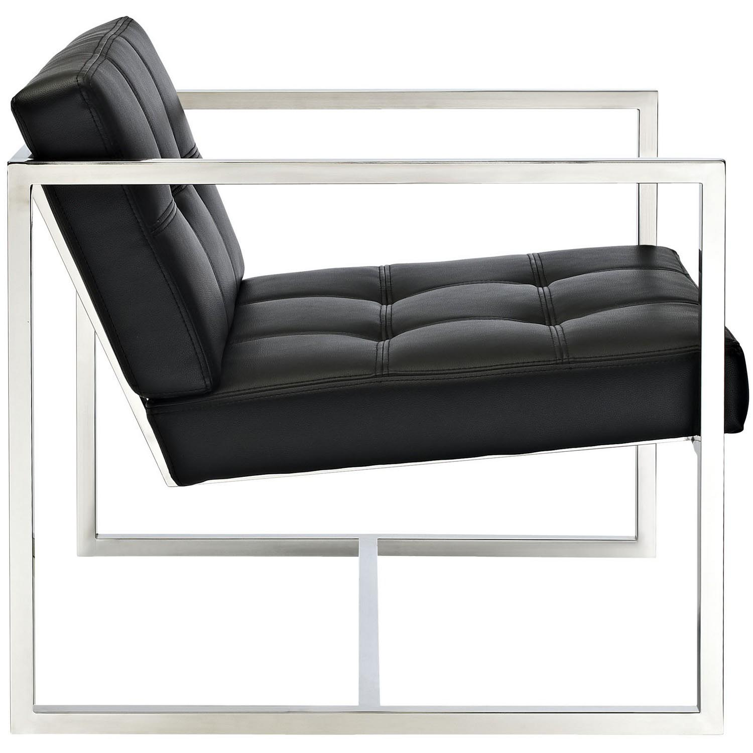 Modway Hover Lounge Chair - Black