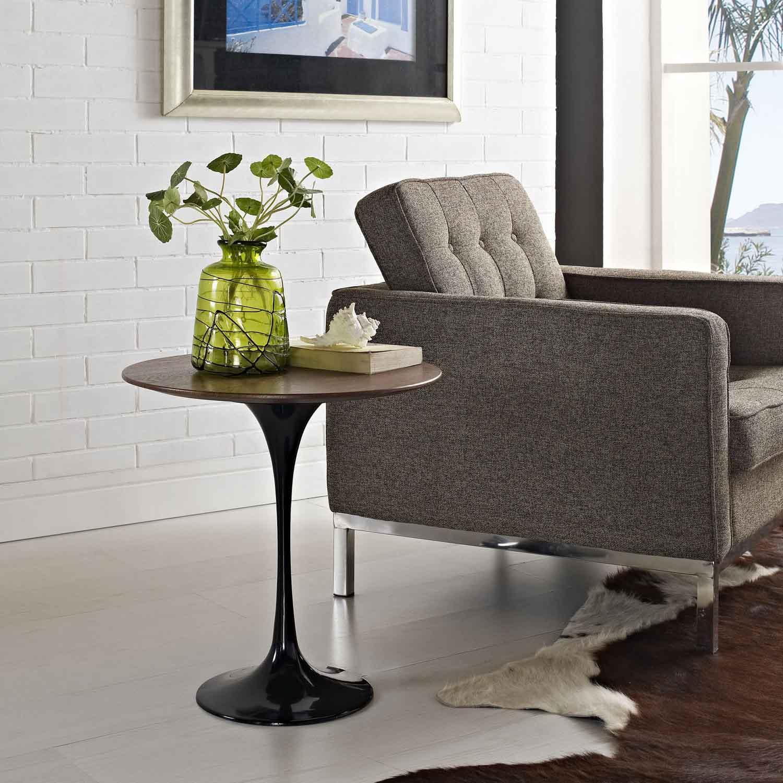 Modway Lippa 20 Wood Side Table - Black