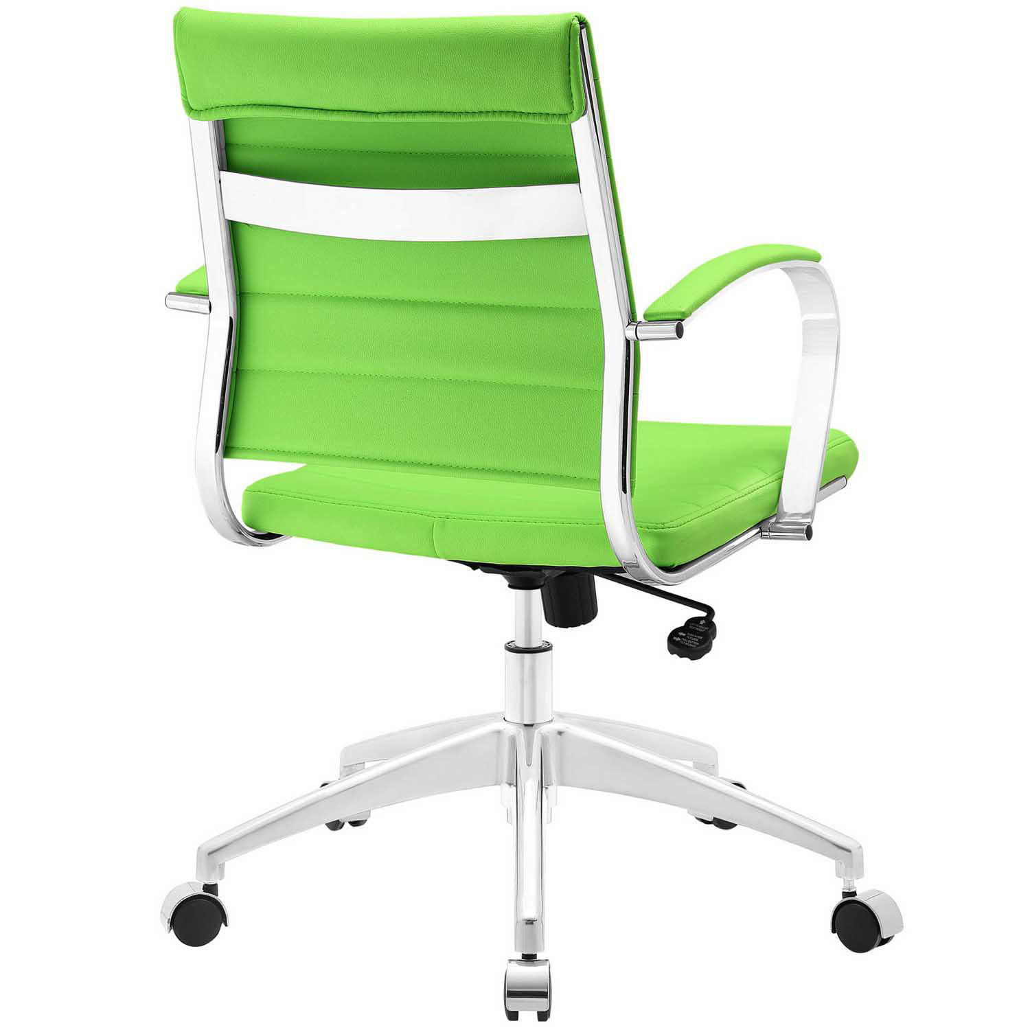 Modway Jive Mid Back Office Chair Bright Green
