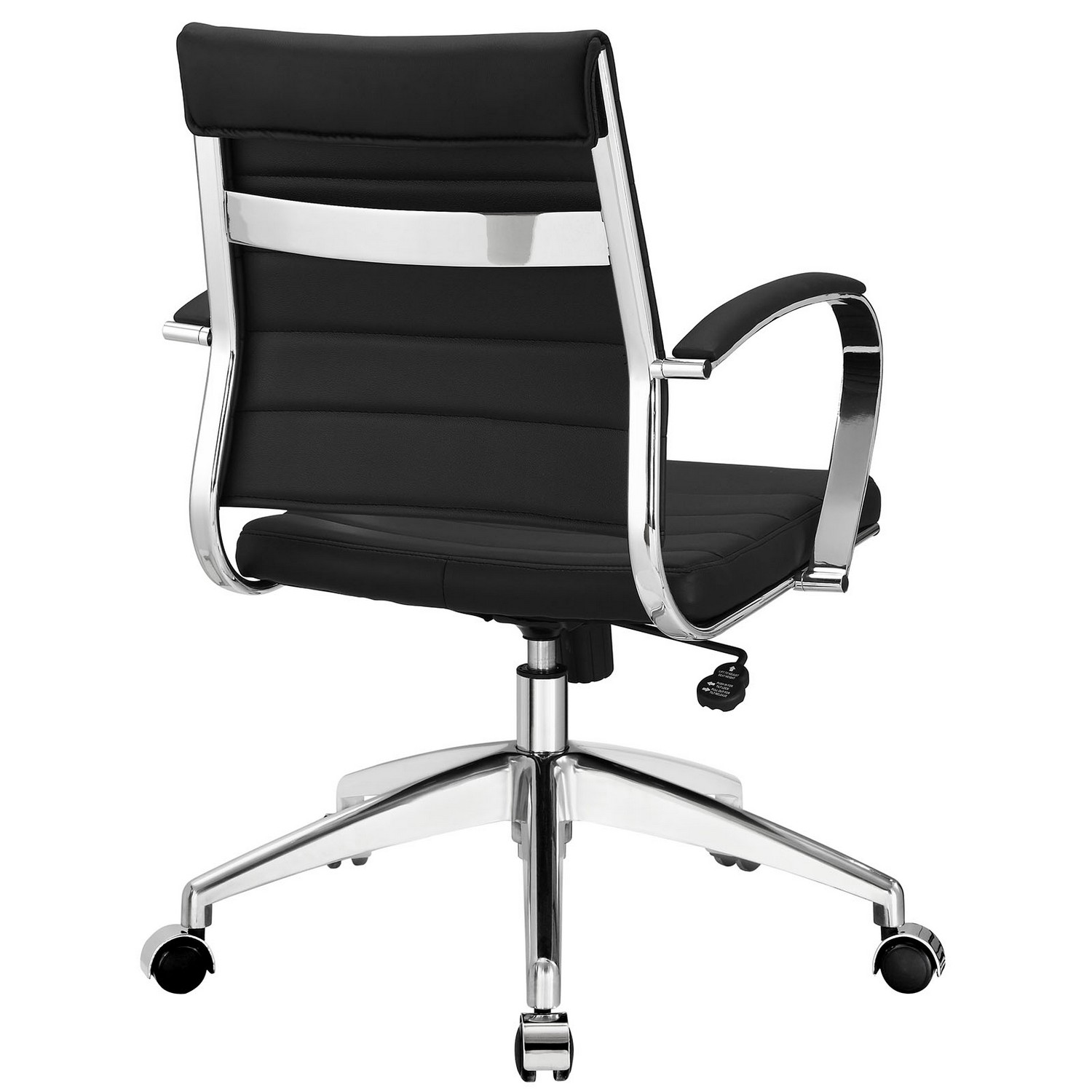 Modway Jive Mid Back Office Chair - Black