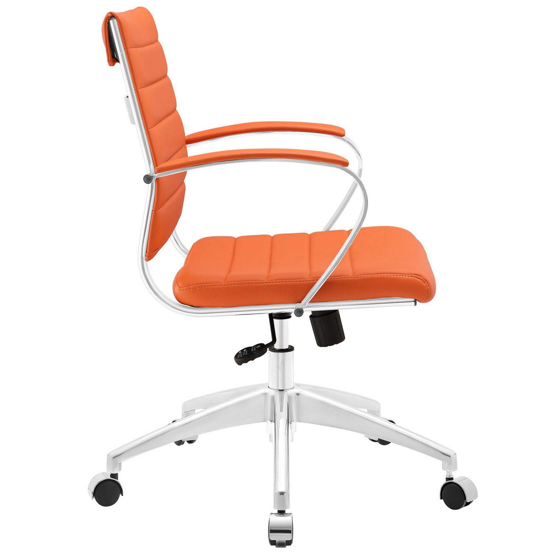 Modway Jive Mid Back Office Chair - Orange