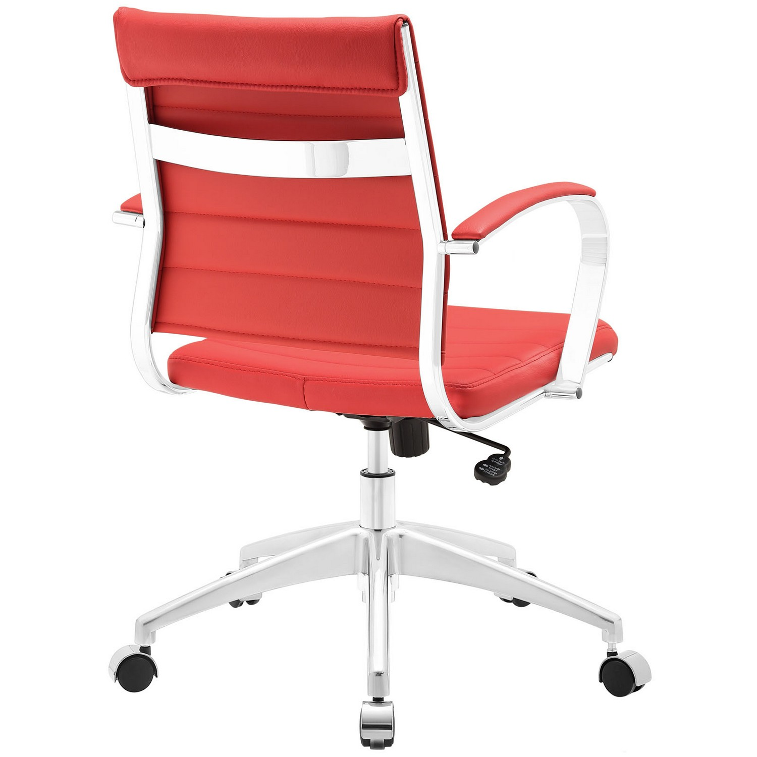 Modway Jive Mid Back Office Chair - Red
