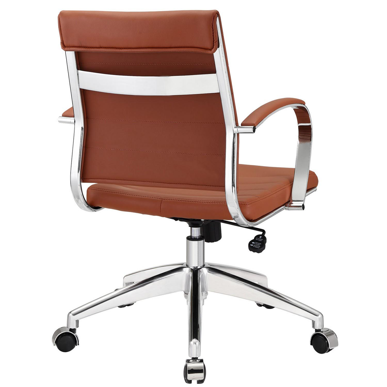 Modway Jive Mid Back Office Chair - Terracotta