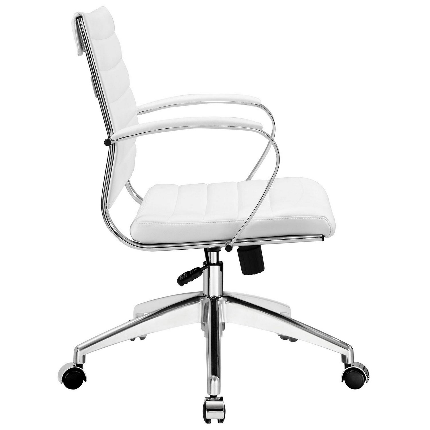 Modway Jive Mid Back Office Chair - White
