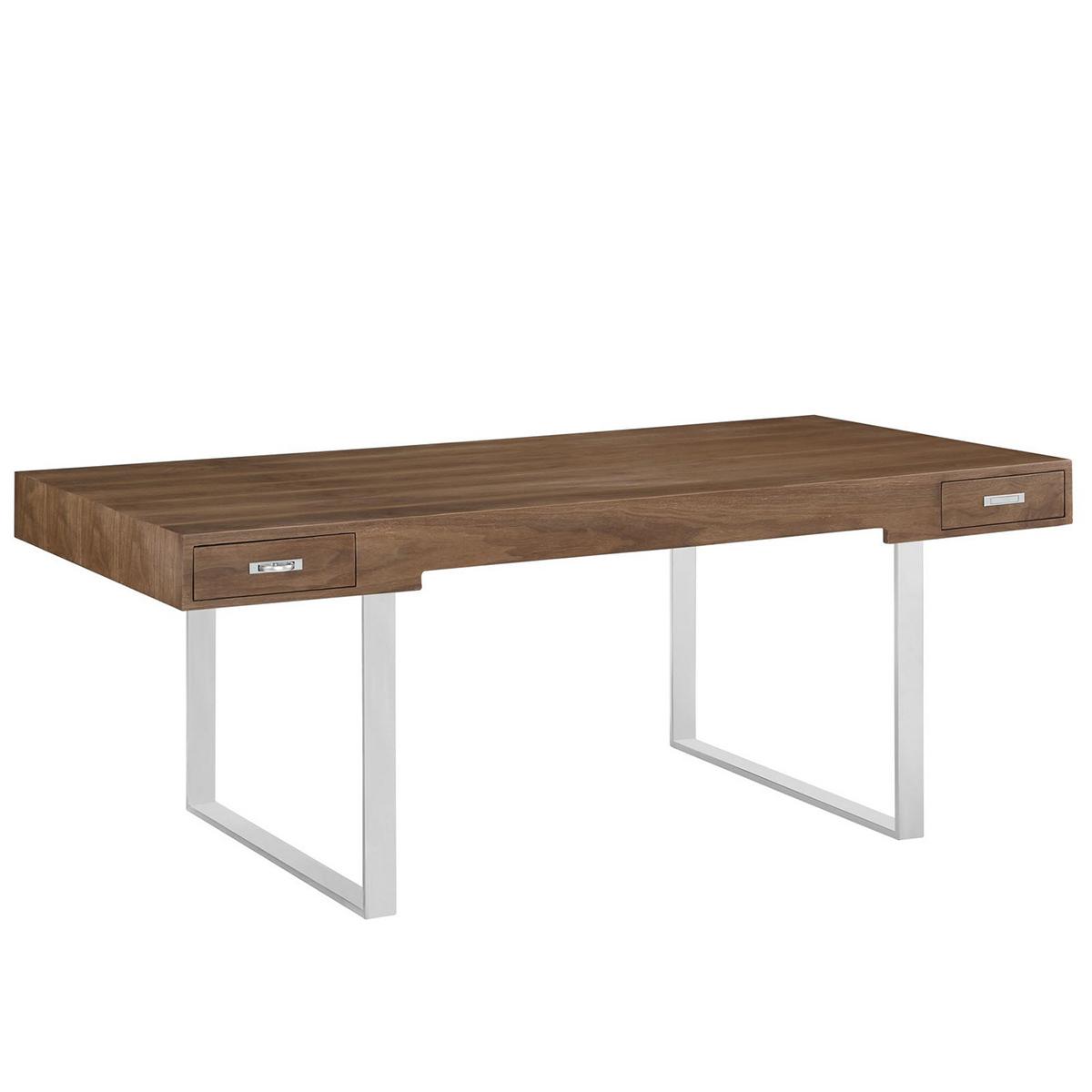 Modway Tinker Office Desk - Walnut