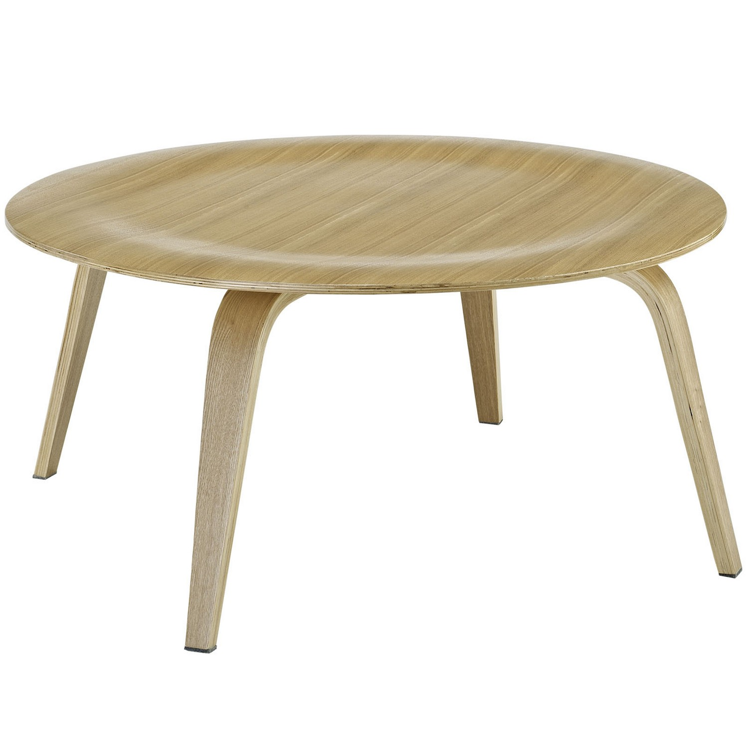 Modway Plywood Coffee Table - Natural