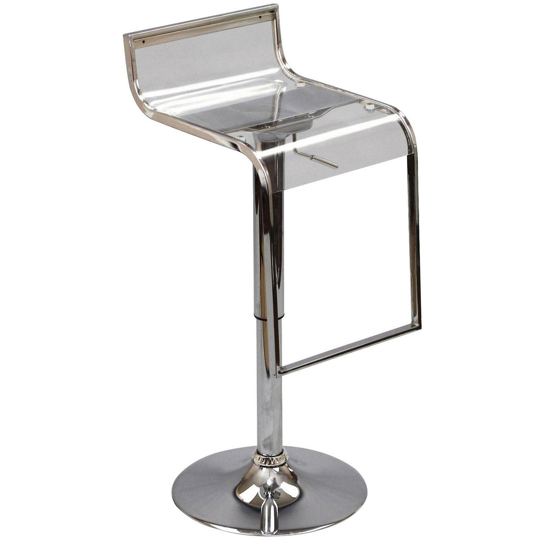 Modway LEM Acrylic Bar Stool - Clear